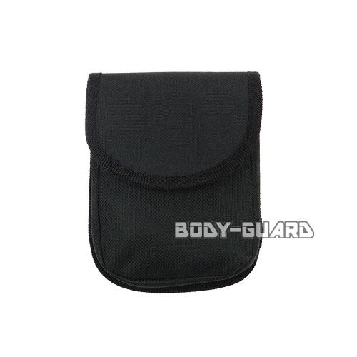 ユイル L-3 手錠ケース ナイロン ブラック マジックテープ式