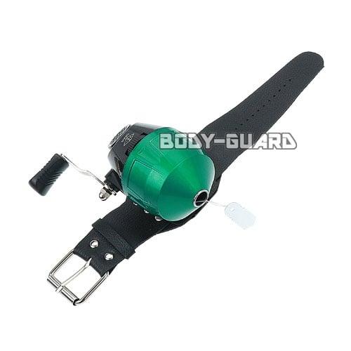 ボウフィッシング用 スピンキャストリール BL10S 右利き用 グリーン