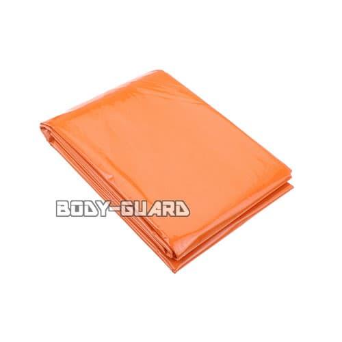 防寒保温シート テントタイプ オレンジ