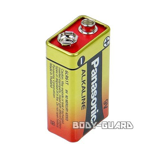 パナソニック アルカリ電池 9V