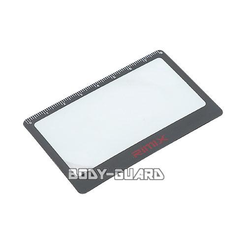RIMIX カード型 ルーペ ブラック