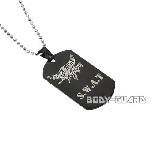 SWAT ペンダントタグ ブラック