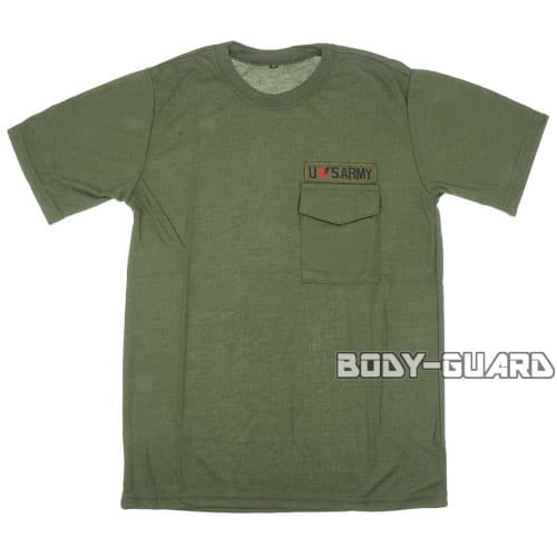 USARMY Tシャツ タイプ2 カーキ XL