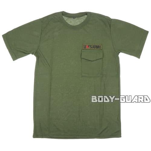USARMY Tシャツ タイプ2 カーキ XXL