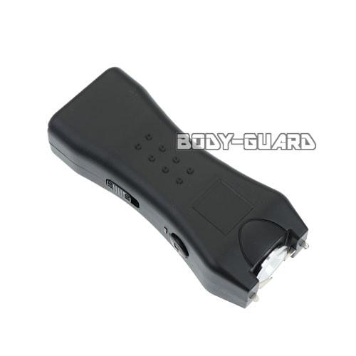 小型スタンガン パワフル 充電式 ブラック