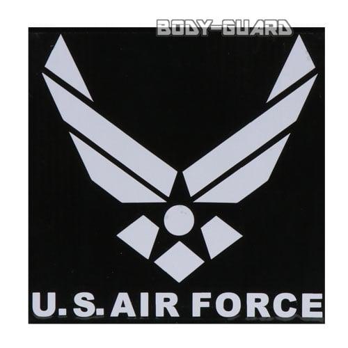 U.S. AIR FORCE ステッカー ホワイト