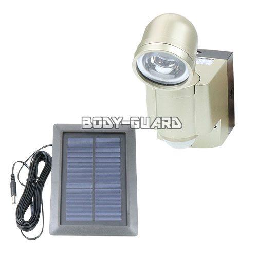 防雨 LEDセンサーライト ◯1灯 ソーラー発電式 ESL-301SL ★ワイヤレスチャイム増設可能