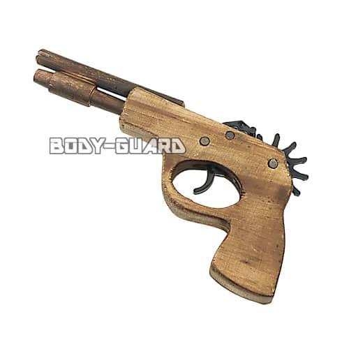 ゴム銃 ピストル型 アイボリー